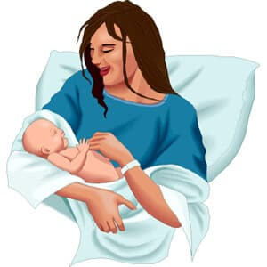 דיכאון אחרי לידה